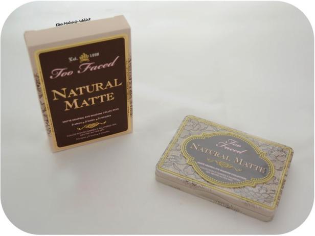 Palette Natural Matte Too Faced 1