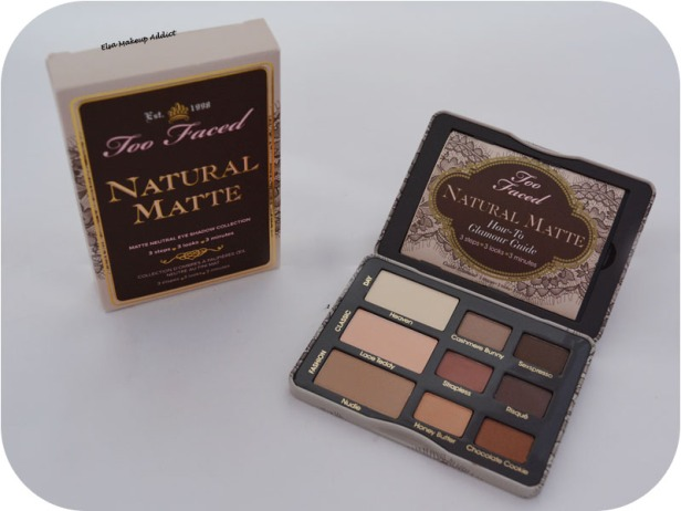 Palette Natural Matte Too Faced 2