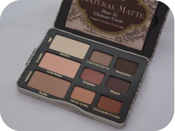 Palette Natural Matte Too Faced 4