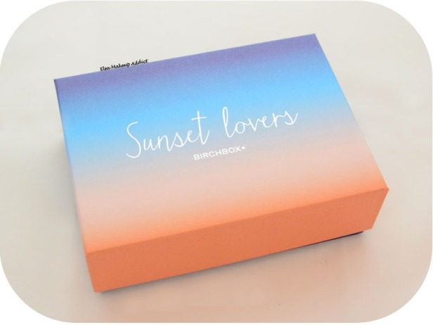 Birchbox Juillet 2015 Sunset Lovers 1