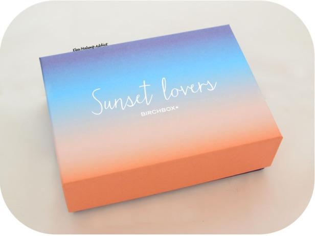 Birchbox Juillet 2015 Sunset Lovers 1
