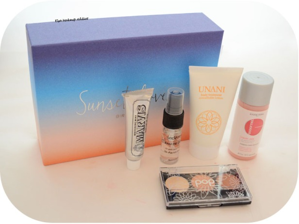 Birchbox Juillet 2015 Sunset Lovers 2