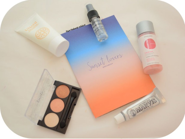 Birchbox Juillet 2015 Sunset Lovers 4