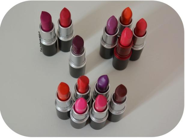 Rouges à lèvres MAC Finis Favoris 1