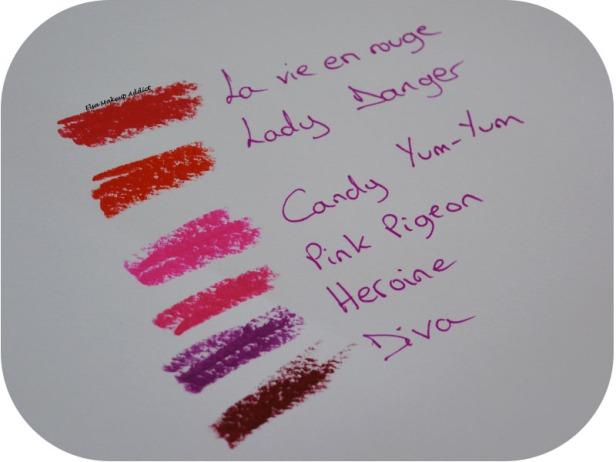 Rouges à lèvres MAC Finis Favoris 5