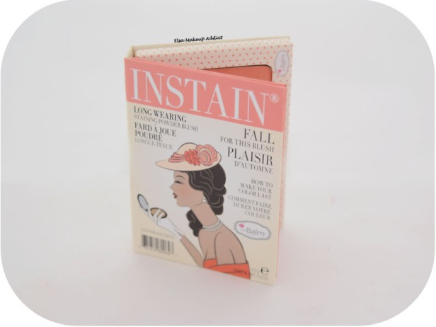 Blush Instain Swiss Dot TheBalm 1