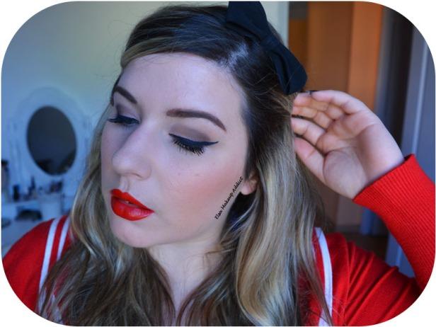 Makeup Look Pin Up 2