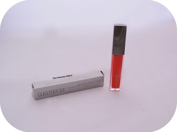 Paint Wash Liquid Lip Colour Vermillon Red Laura Mercier 1