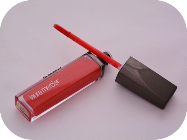 Paint Wash Liquid Lip Colour Vermillon Red Laura Mercier 3