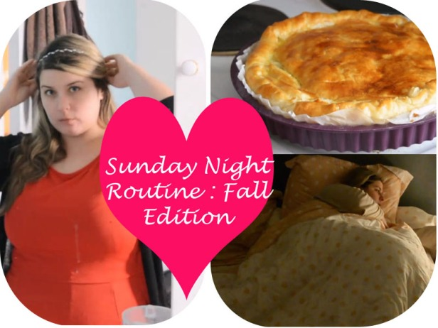 Sunday Night Routine Fall Edition 6