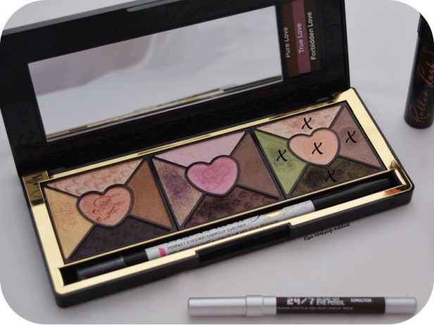 Makeup Forbidden Love Too Faced Love Palette 6