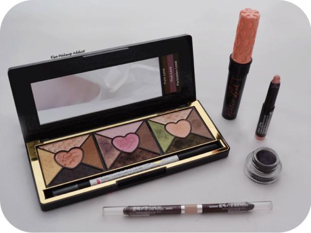 Makeup Rose Romantic Love Palette Too Faced True Love 5