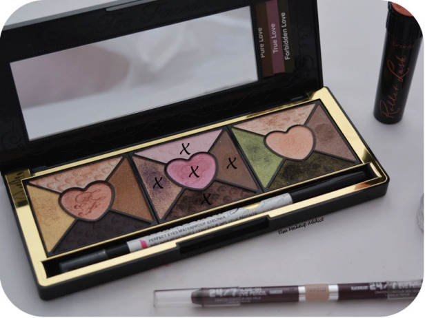 Makeup Rose Romantic Love Palette Too Faced True Love 6