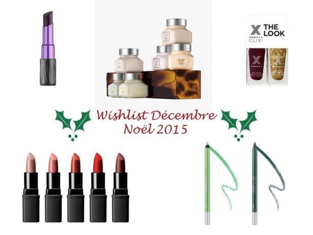 Wishlist Décembre 2015 Noël