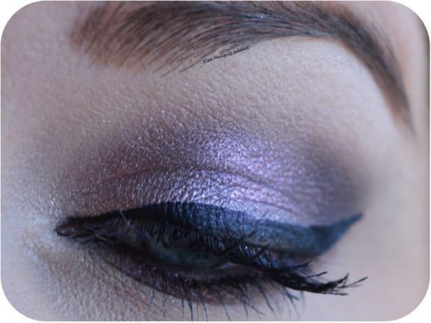 Dark Purple Makeup Noël Nouvel An 4
