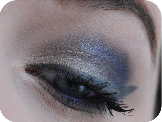 Blue Danger Makeup Gwen Stefani Urban Decay 1
