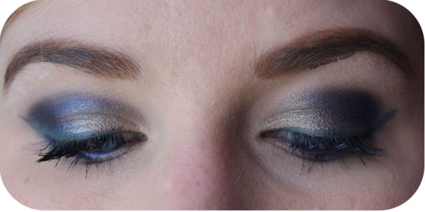 Blue Danger Makeup Gwen Stefani Urban Decay 3