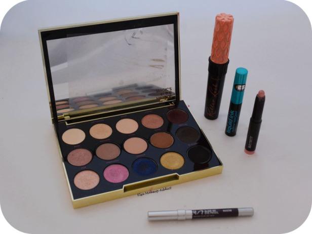 Pink Burgundy Makeup Gwen Stefani UD 6
