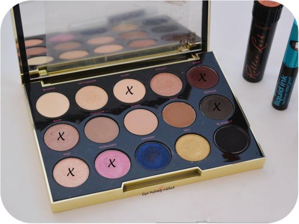 Pink Burgundy Makeup Gwen Stefani UD 7