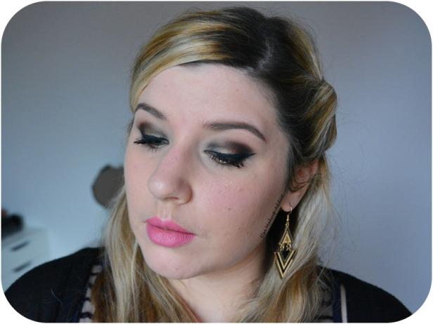 Smoked Night Makeup Gwen Stefani Urban Decay 4