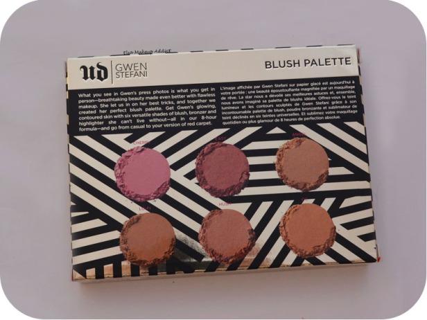 Palette Blush Gwen Stefani Urban Decay 2