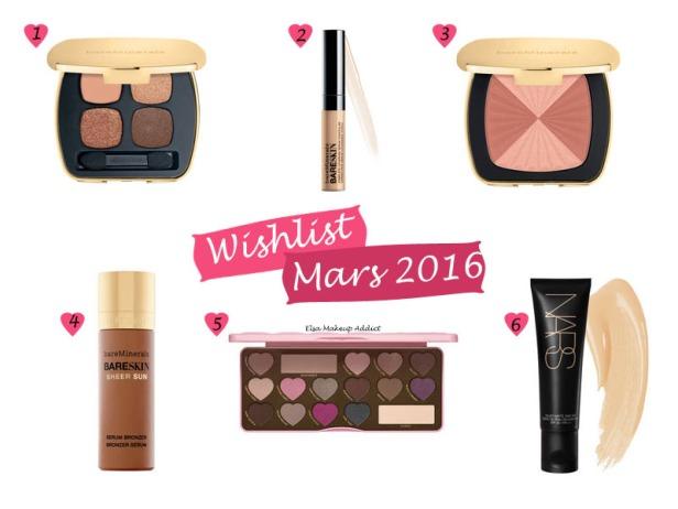 Wishlist Mars 2016