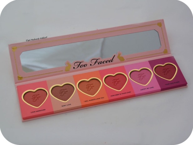 Palette Love Flush Too Faced 4