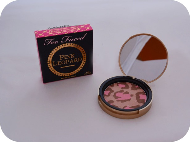 Blushing Bronzer Pink Leopard Too Faced 2