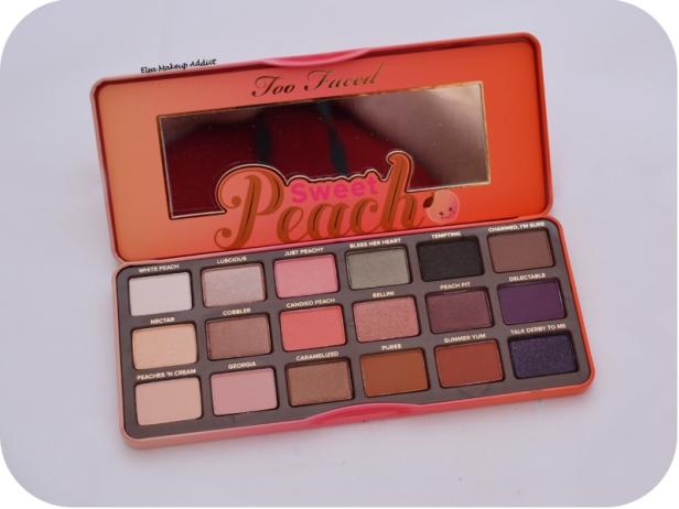 Palette Sweet Peach Too Faced 5