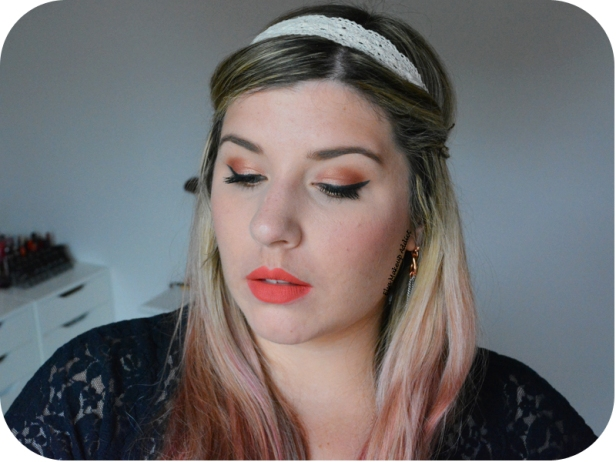 Luminous Peachy Makeup Sweet Peach Too Faced 4