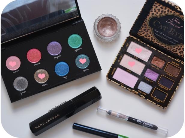 Makeup 100% Moondust Palette Urban Decay Galaxy 7
