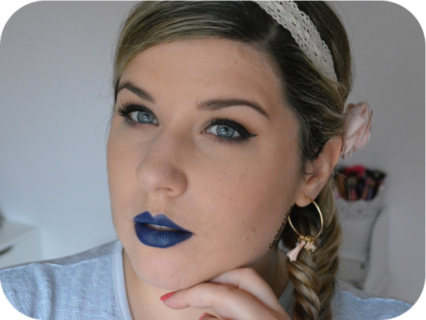 Vice Lipstick Heroine Urban Decay Bleu 2