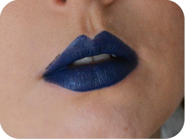 Vice Lipstick Heroine Urban Decay Bleu 7