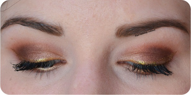 Bronze and Gold Makeup Modern Renaissance Anastasia Beverly Hills 3