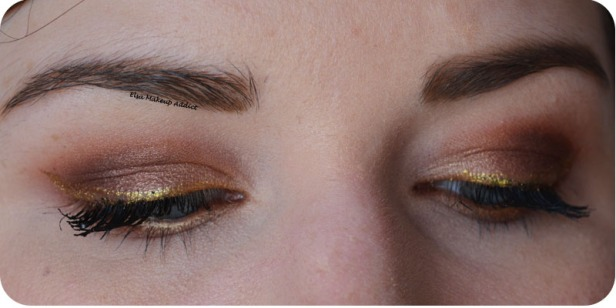 Bronze and Gold Makeup Modern Renaissance Anastasia Beverly Hills 5