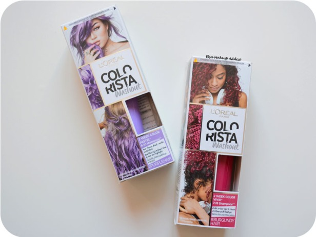 Coloration Washout Colorista L'Oréal Purplehair 1