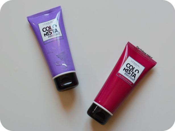 Coloration Washout Colorista L'Oréal Purplehair 5
