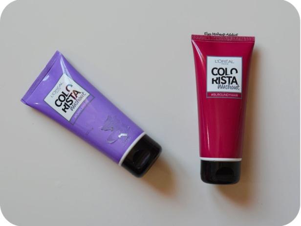 Coloration Washout Colorista L'Oréal Purplehair 6