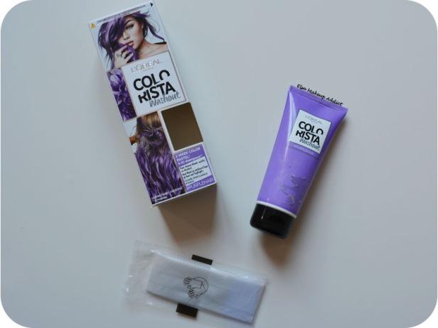 Coloration Washout Colorista L'Oréal Purplehair 7
