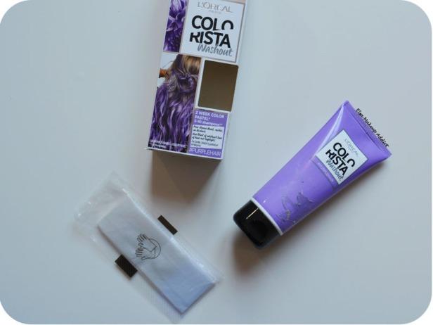 Coloration Washout Colorista L'Oréal Purplehair 8