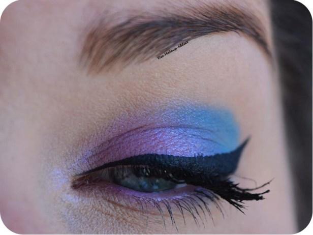 Blue Pink Makeup Pastel Goth Kat von D 1
