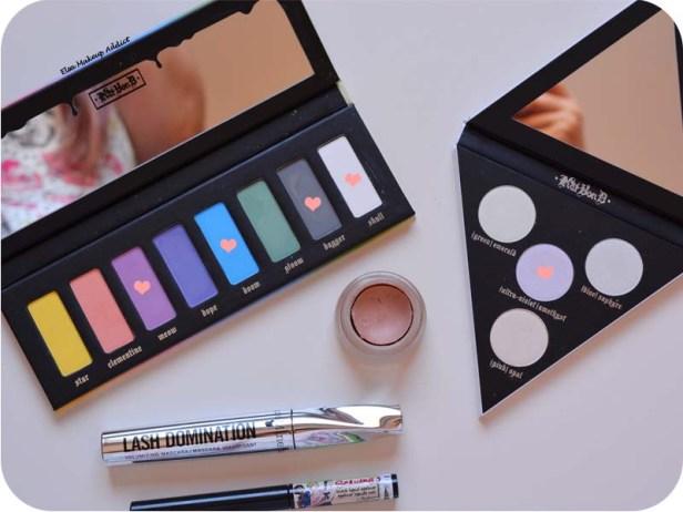 Blue Pink Makeup Pastel Goth Kat von D 10