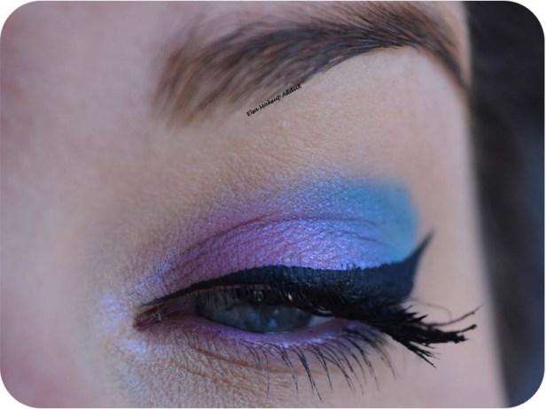 Blue Pink Makeup Pastel Goth Kat von D 2