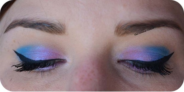 Blue Pink Makeup Pastel Goth Kat von D 3
