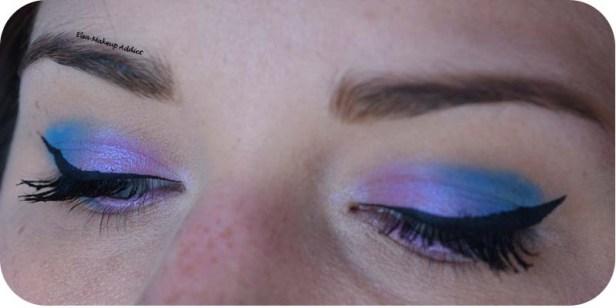 Blue Pink Makeup Pastel Goth Kat von D 4