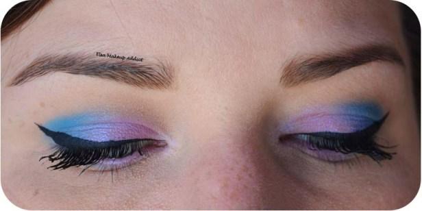 Blue Pink Makeup Pastel Goth Kat von D 5