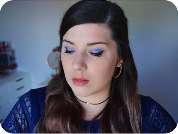 Blue Pink Makeup Pastel Goth Kat von D 6