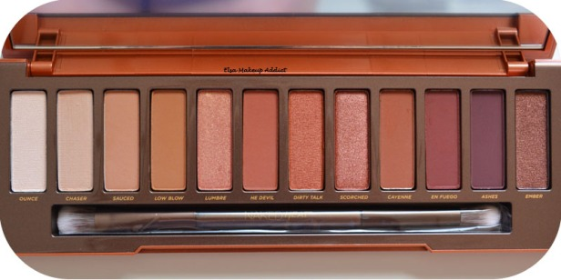Palette Naked Heat Urban Decay 10
