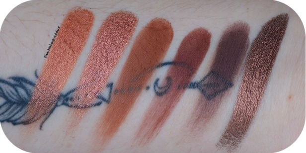 Palette Naked Heat Urban Decay 12