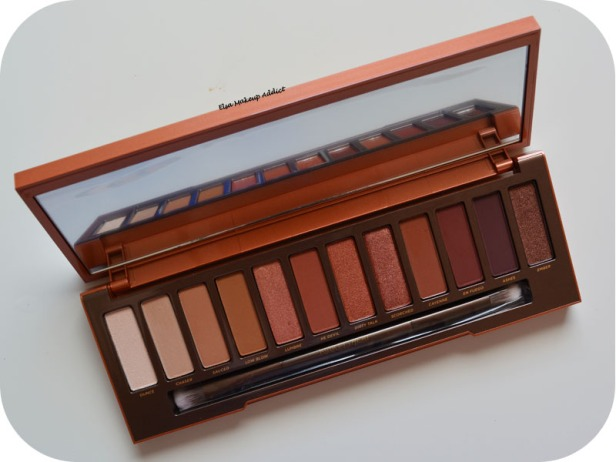 Palette Naked Heat Urban Decay 8